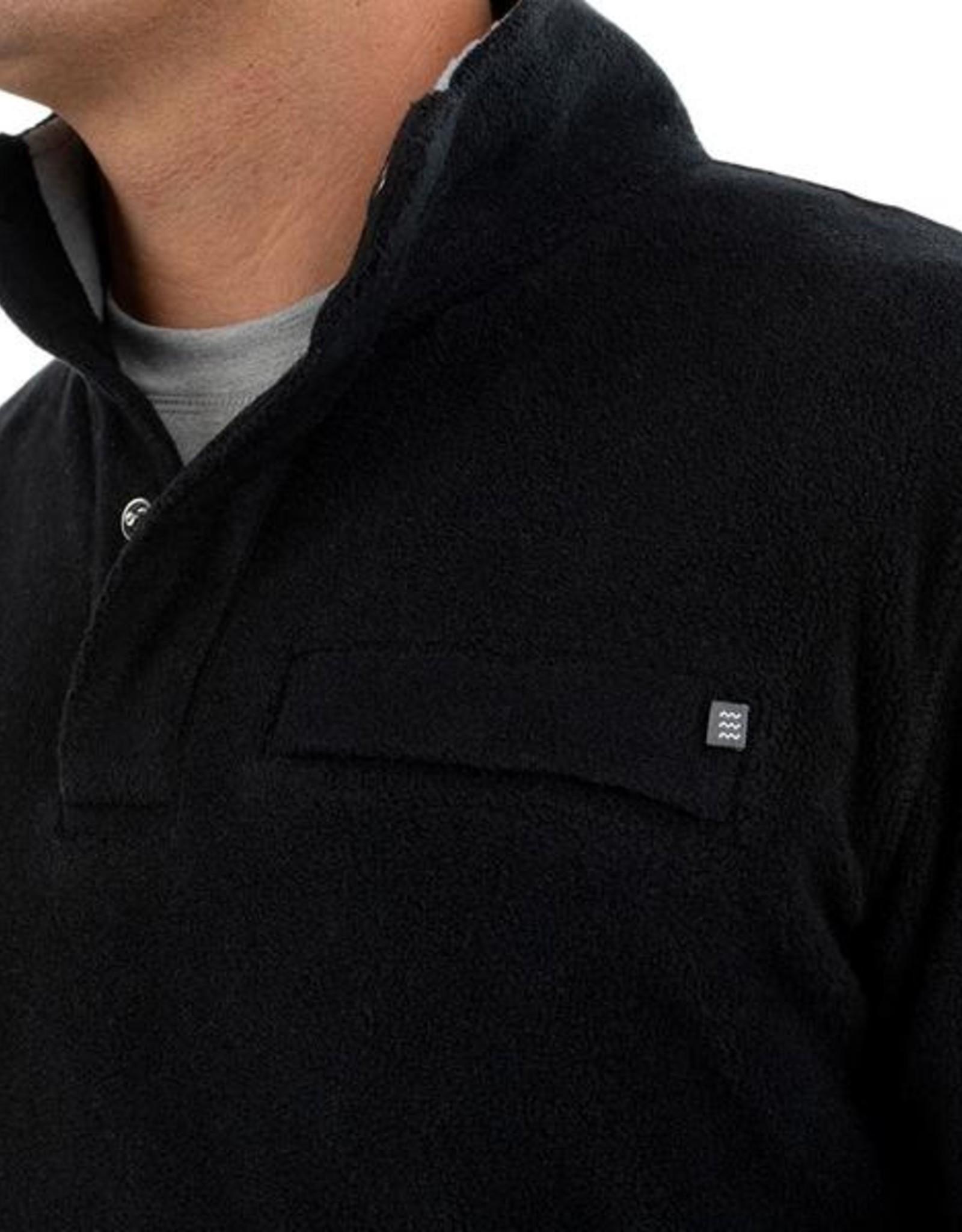 Free Fly Men's Polar Fleece Snap Pullover
