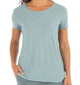 Free Fly Womens Bamboo Slub Channel Tee