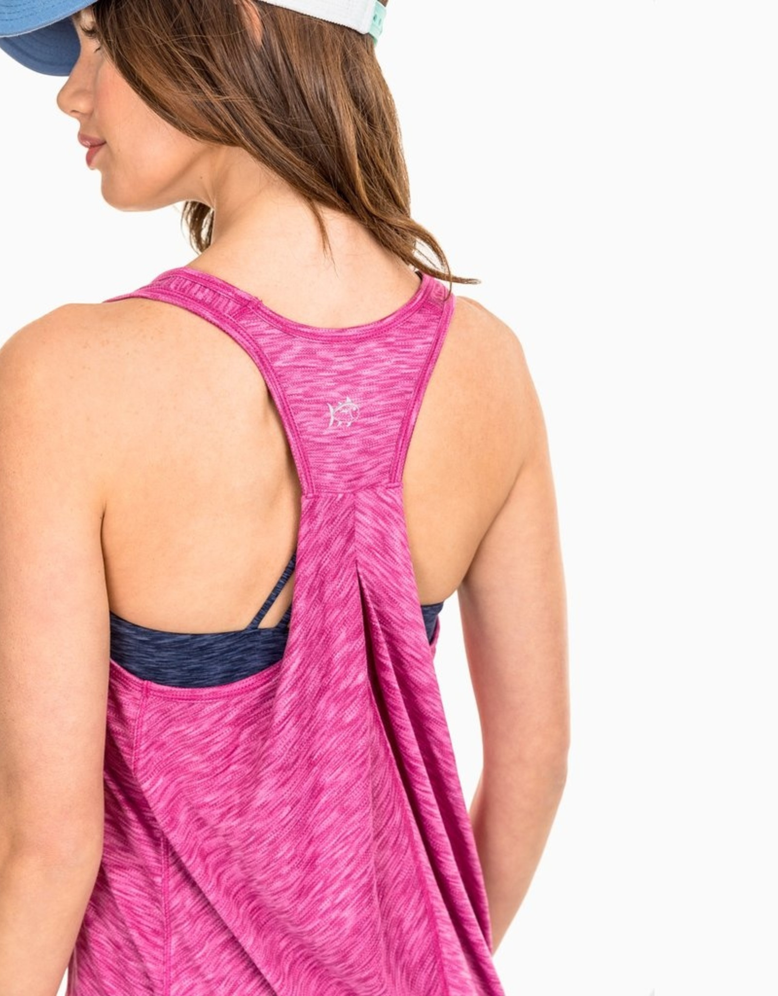 Southern Tide Women's  Space Dyed Active Tank