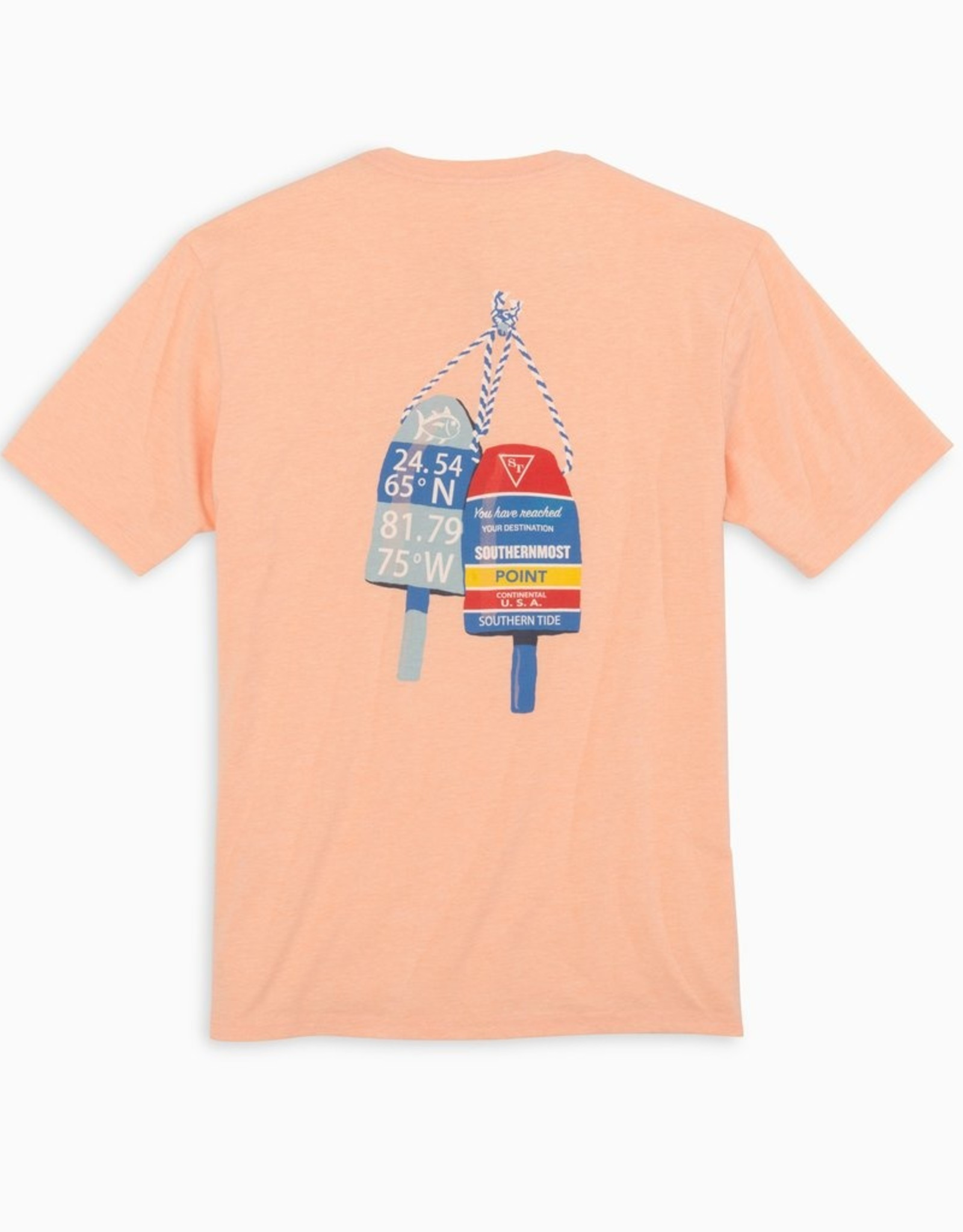 Southern Tide Southernmost Buoys Tee