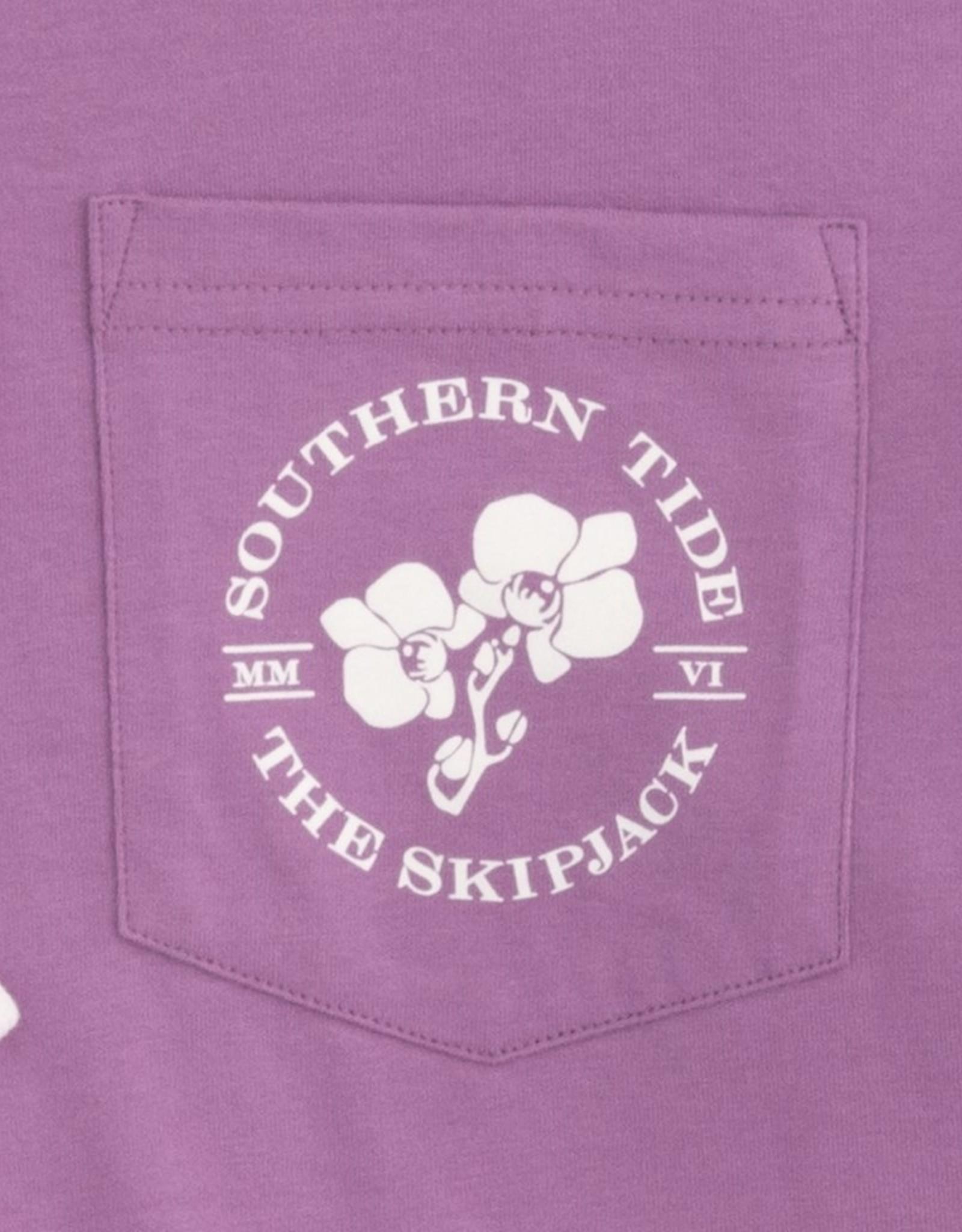 Southern Tide Ladies Orchid Skipjack Hoodie Tee