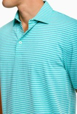 Southern Tide Driver Micro Stripe Performance Polo