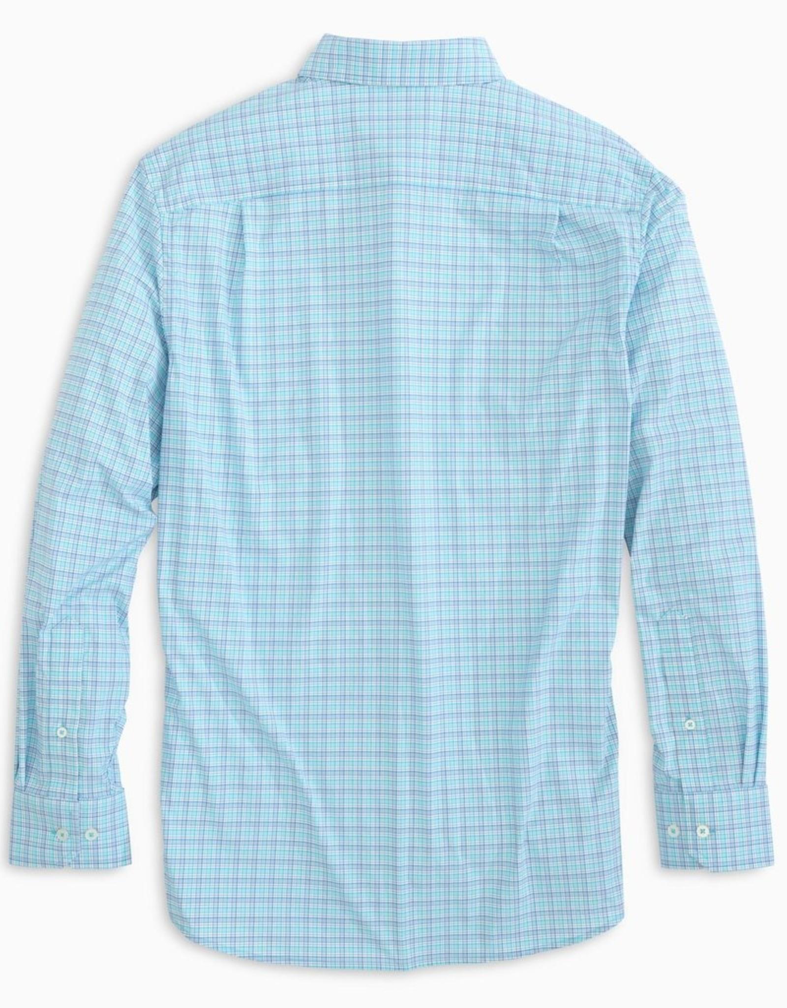 Southern Tide Intercoastal Basin Mini Check Sportshirt