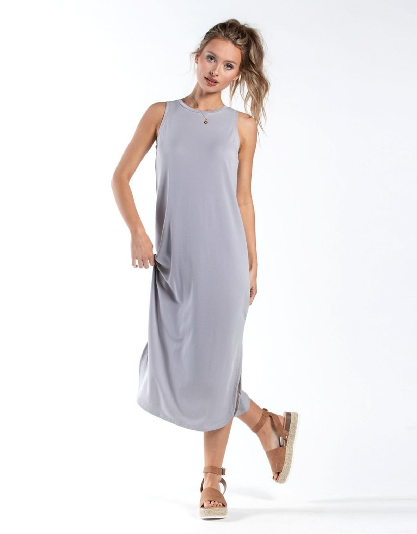 Southern Shirt Modal Midi Dress