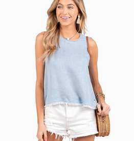Southern Shirt On The Fringe Tank