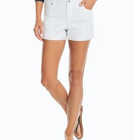 Southern Tide Hayes White Denim Shorts
