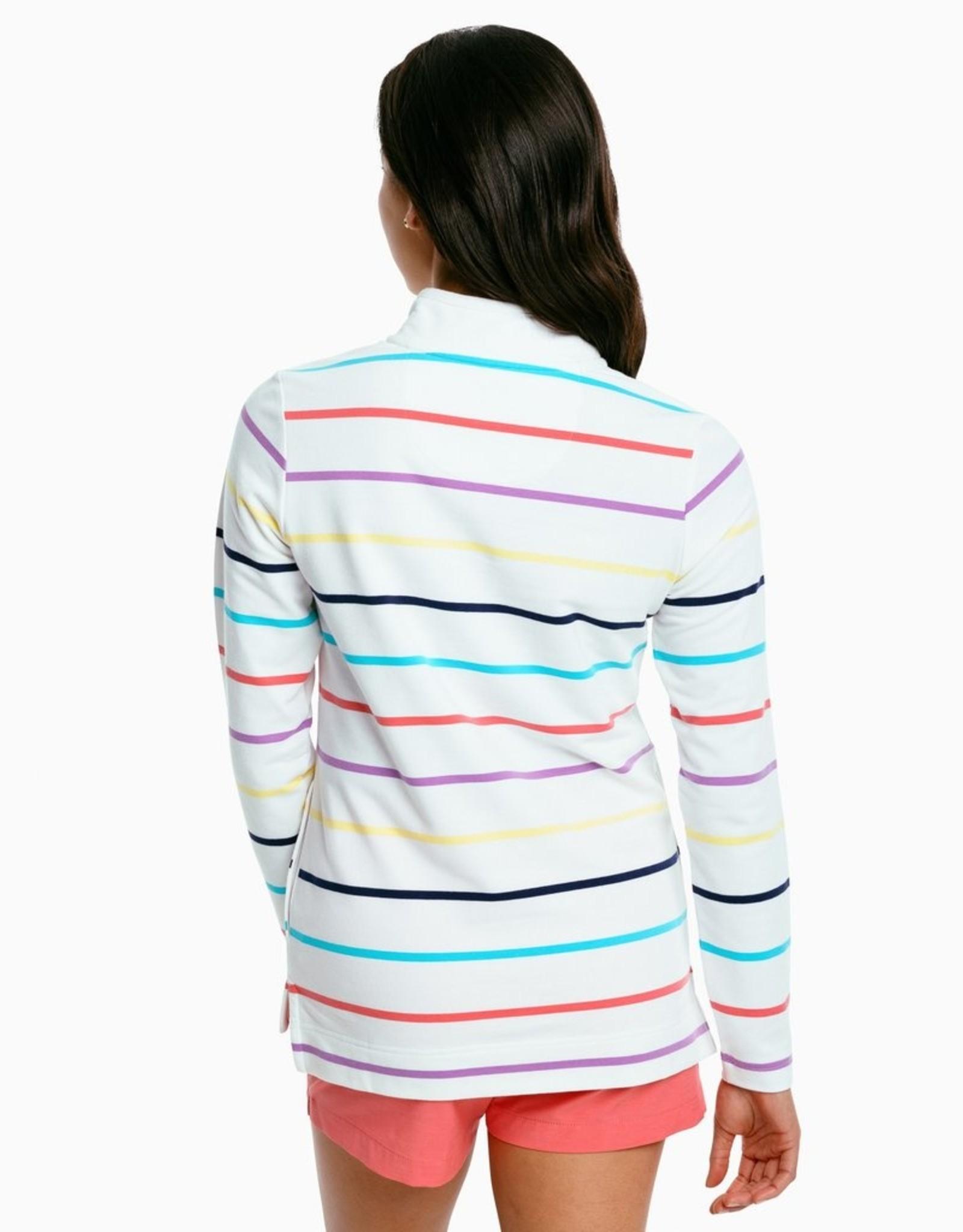 Southern Tide Waylon Striped Pullover