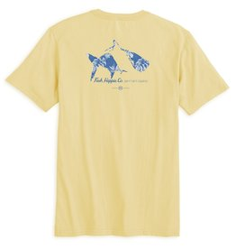 Fish Hippie Skewed Short Sleeve Tee
