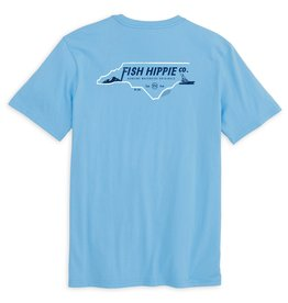 Fish Hippie North Carolina Short Sleeve Tee