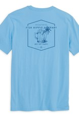 Fish Hippie Excused Short Sleeve Tee