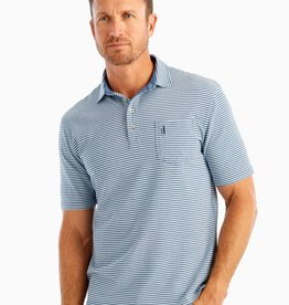 johnnie O Dante Stripe 4 Button Polo