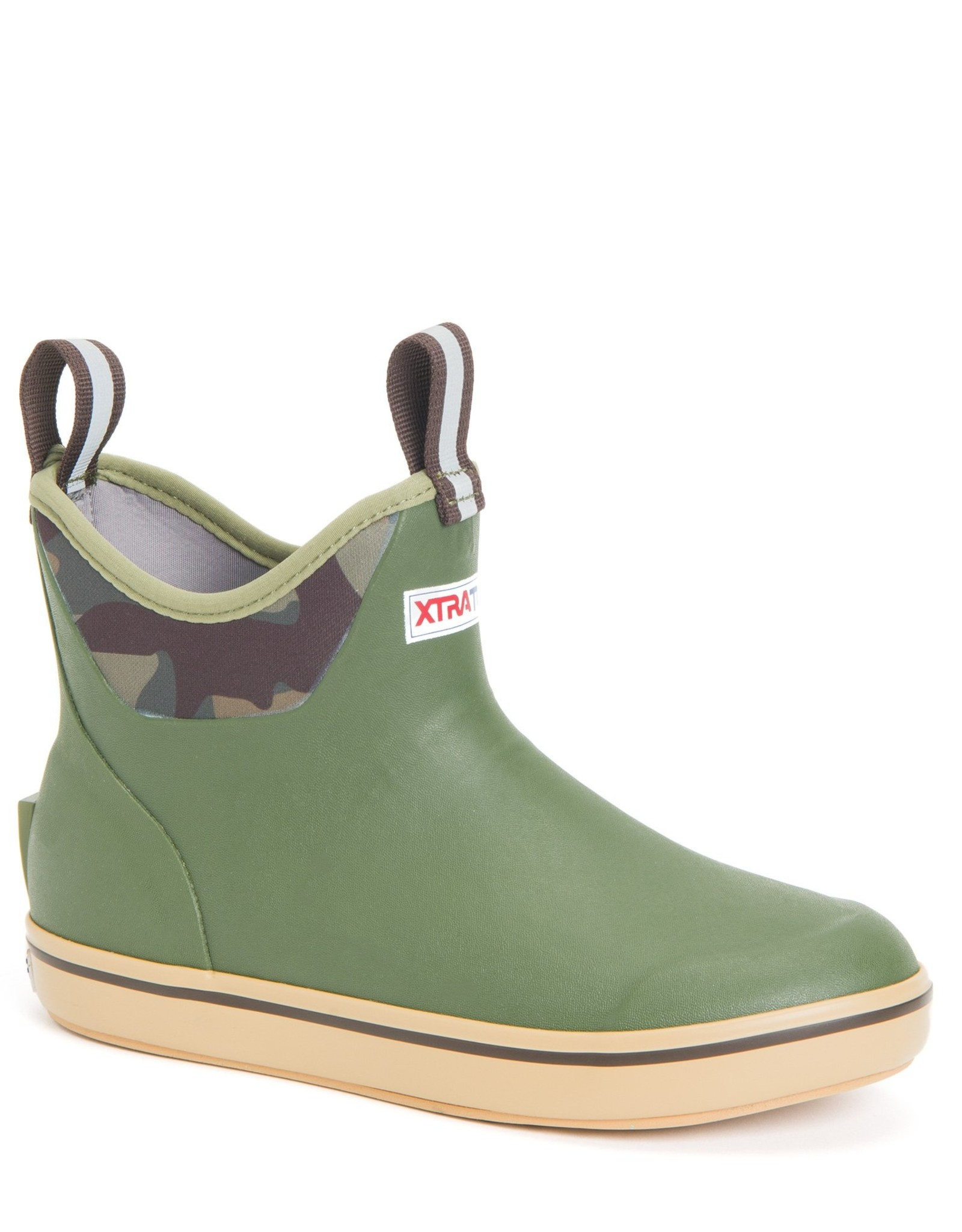 xtratuf Womens Camo Ankle Deck Boots