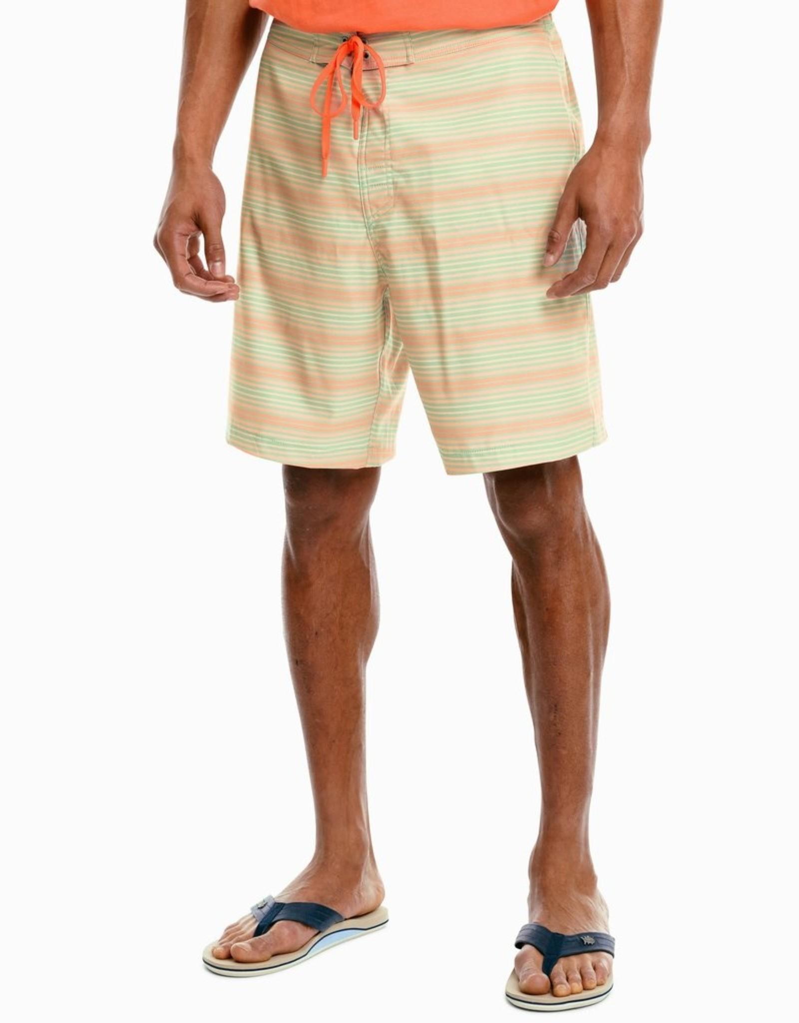 """Southern Tide 8.5"""" Stripe Water Short"""
