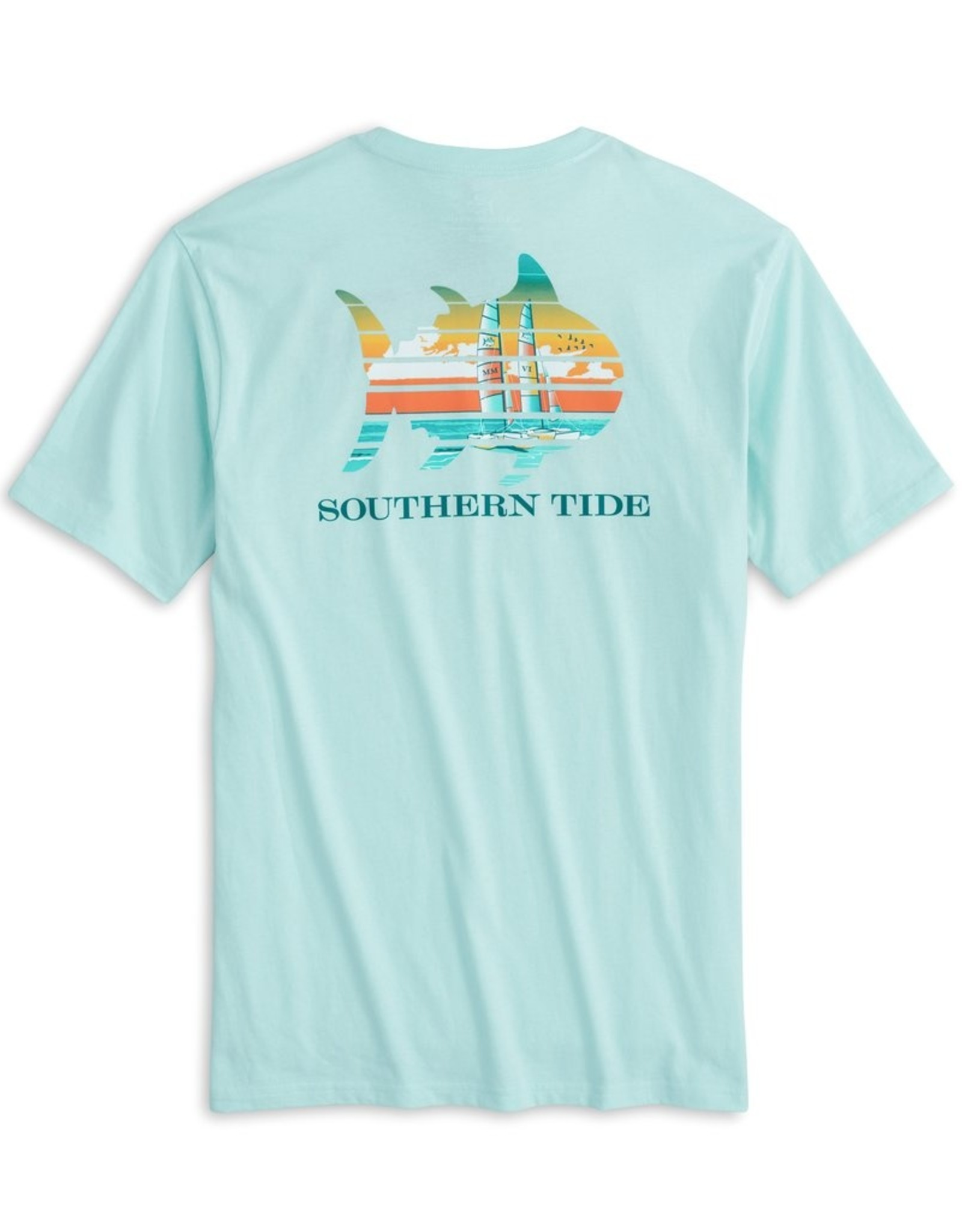 Southern Tide Catamaran Sunset Tee
