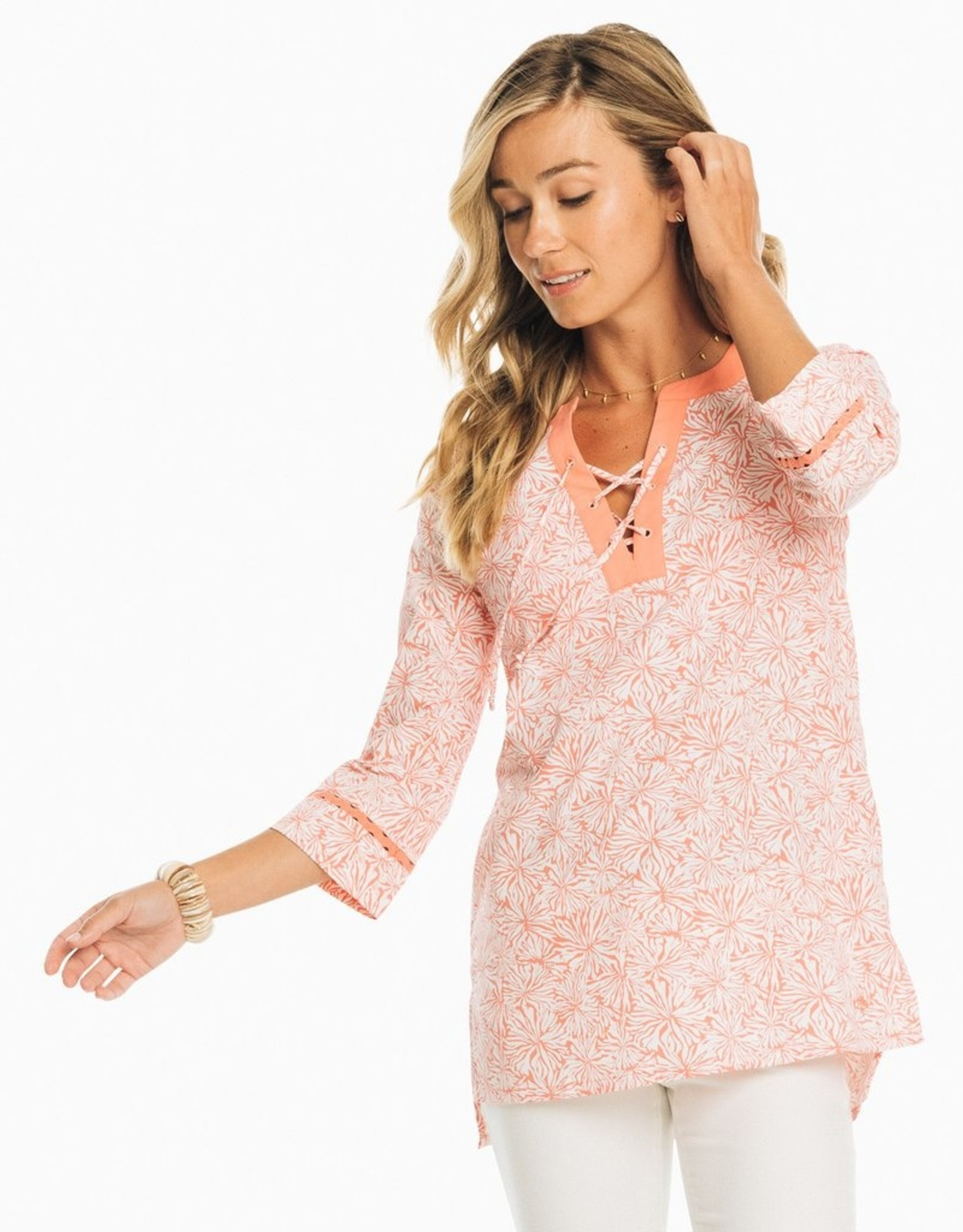 Southern Tide Southern Tide Hailey Printed IC Tunic