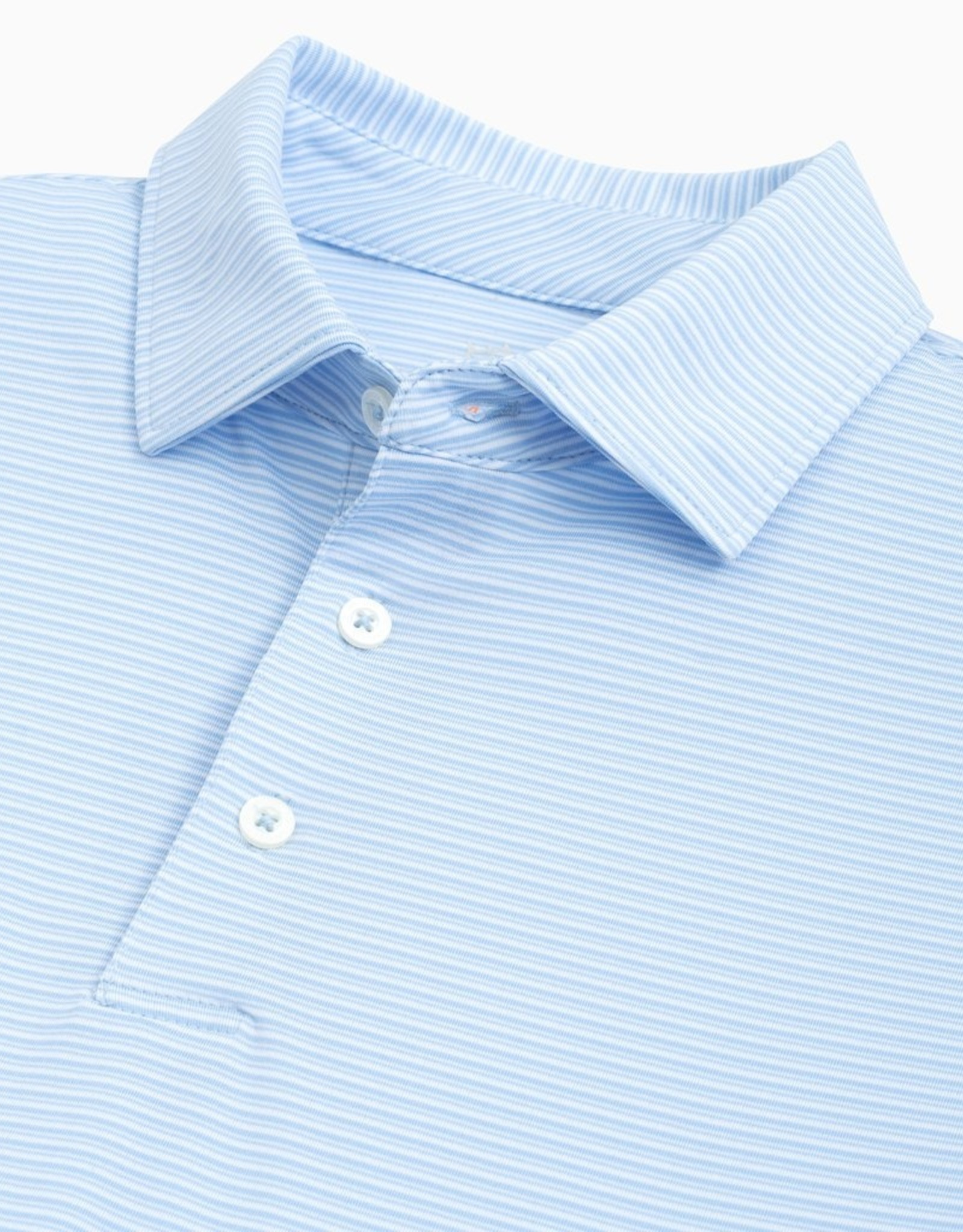 Southern Tide Driver Striped Performance Polo