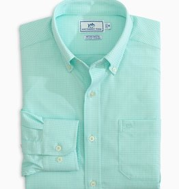 Southern Tide Brrr IC Mini Gingham Sportshirt