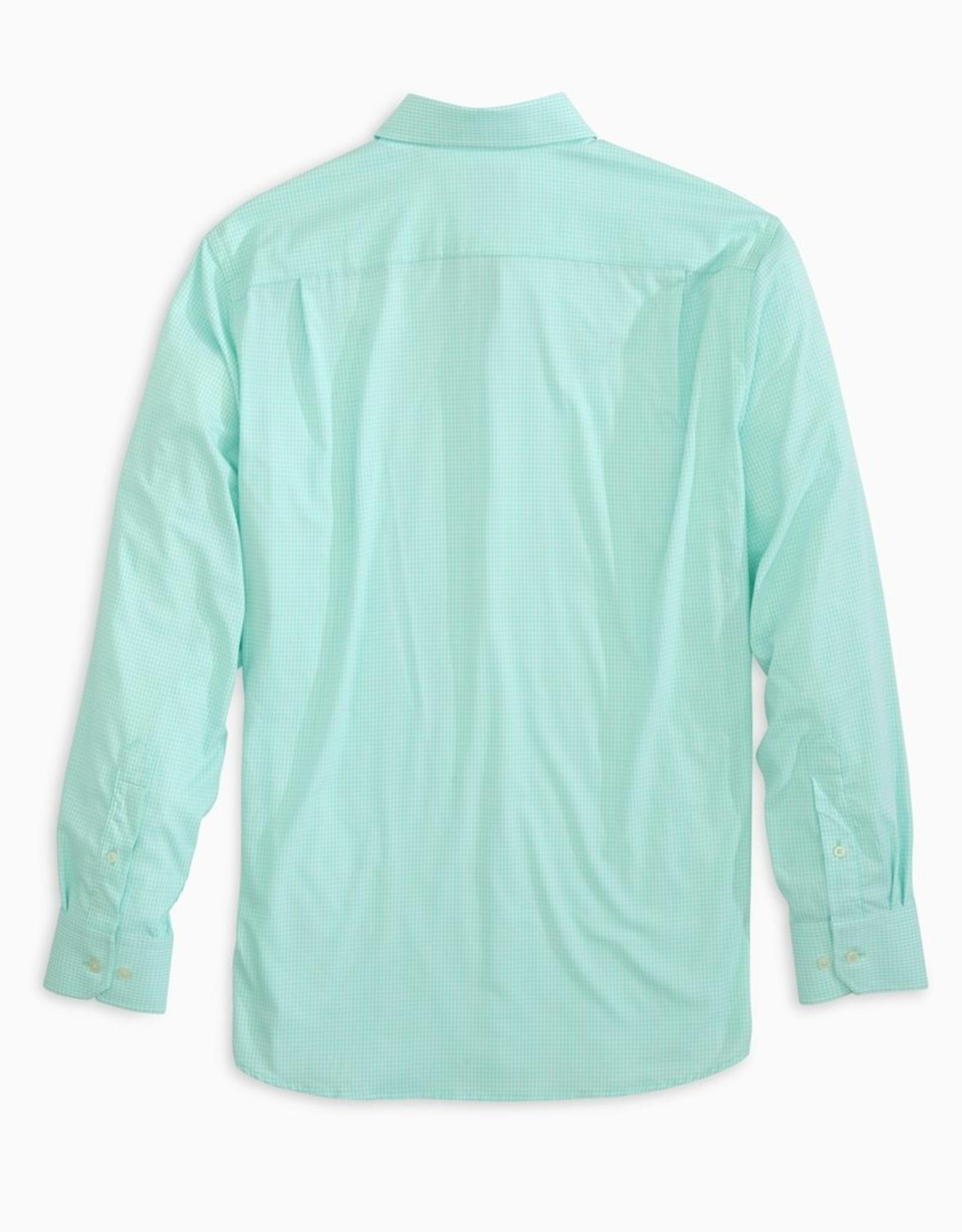 Southern Tide Brrr IC Mini Gingham Sportshirt