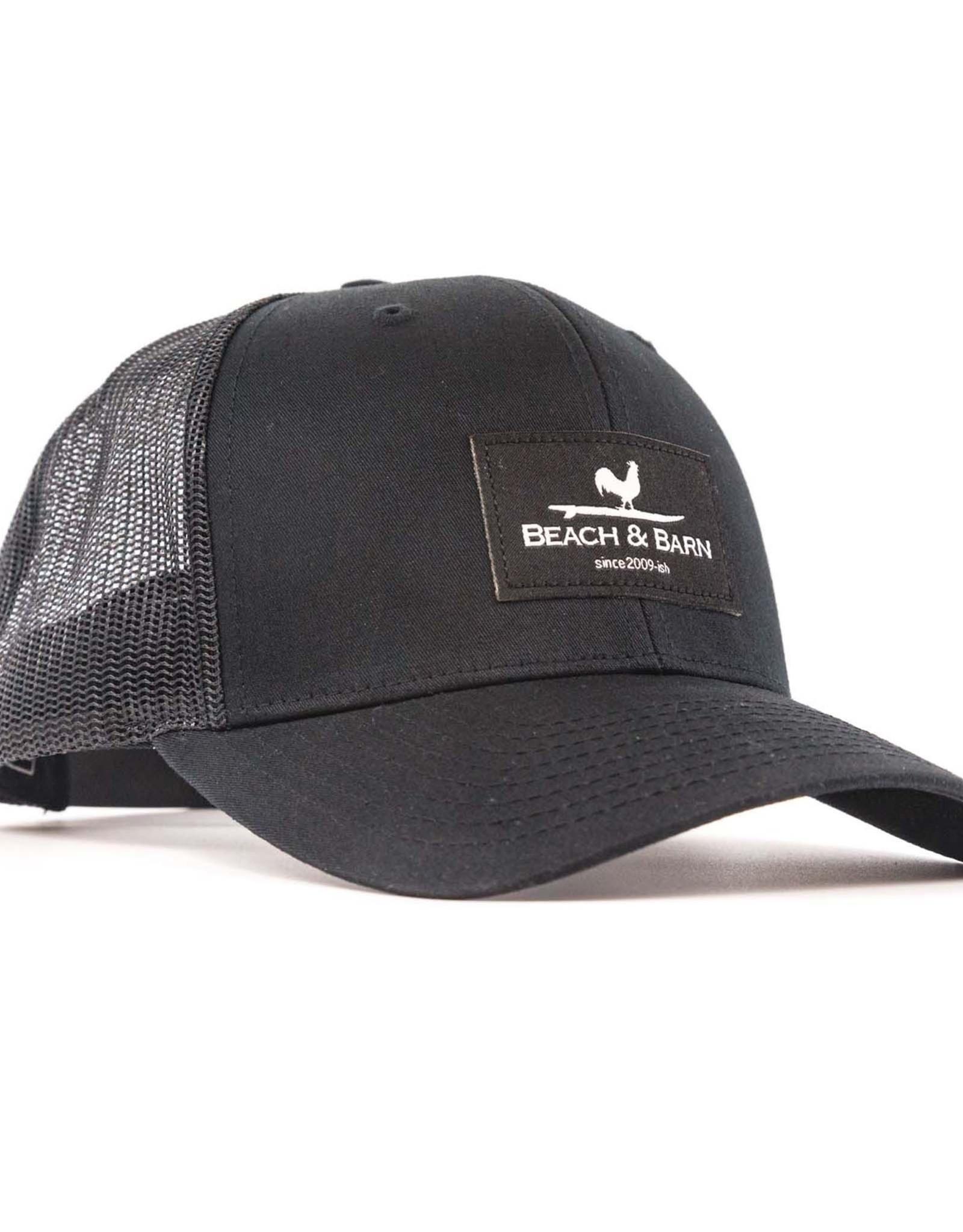 Beach &  Barn Woven Label Snap Back Hat