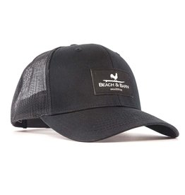 Beach &  Barn Woven Label Snap Back Hat