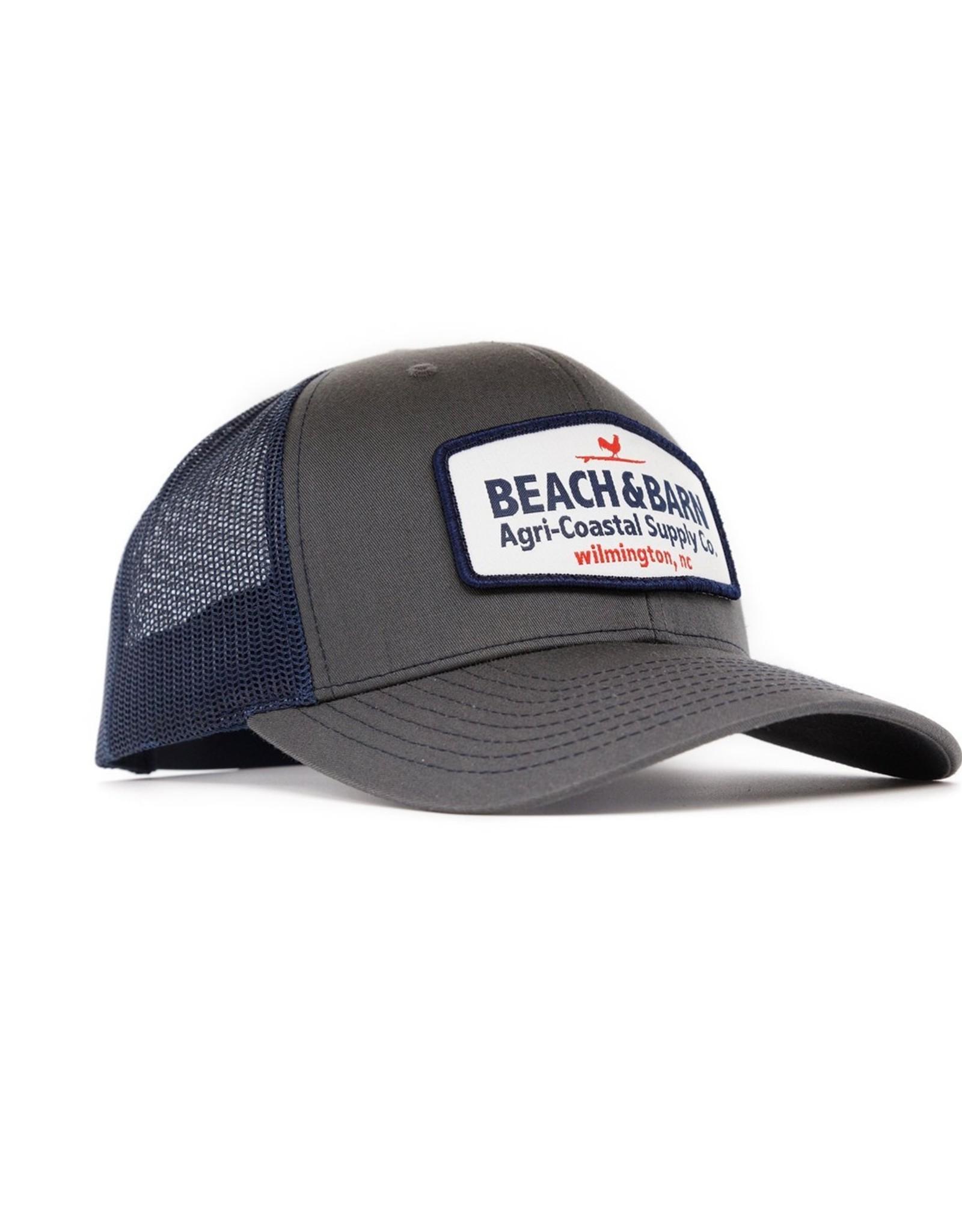 Beach &  Barn Agri-Coastal Snapback Hat