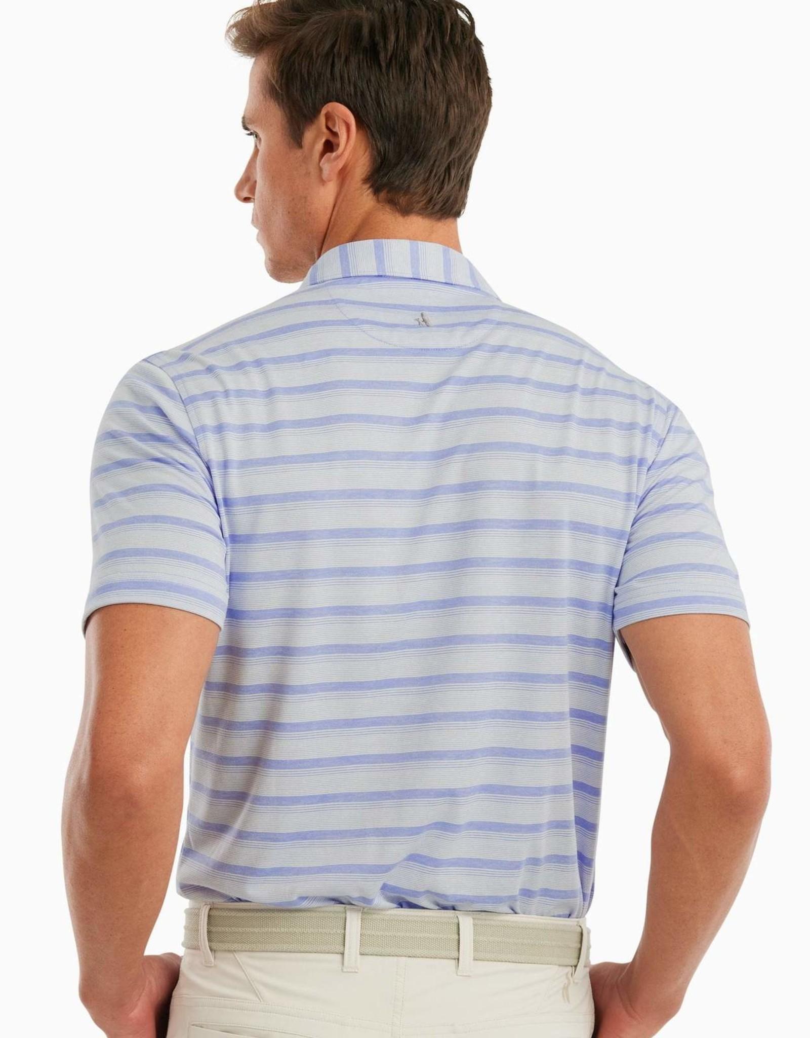 johnnie O Rochdale Stripe Prep-Formance Polo