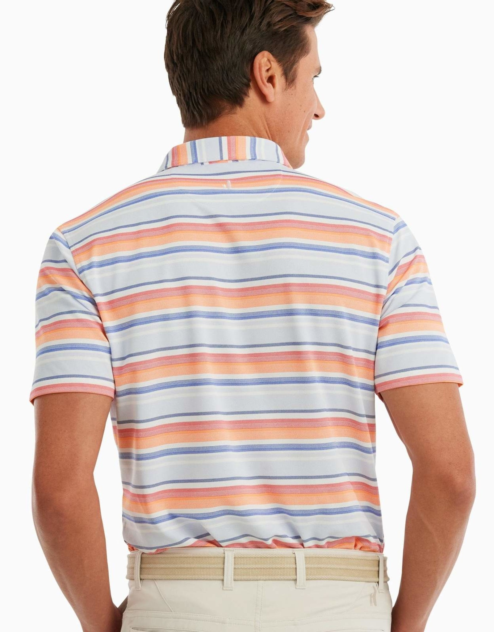 johnnie O Stefan Stripe Prep-Formance Polo