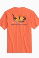 Southern Tide Paddlboard Sunset Fll Tee