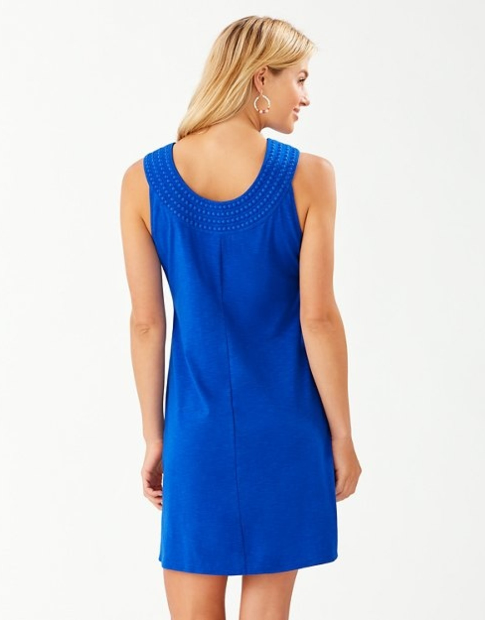 Tommy Bahama Pear Embroidered Shift Dress