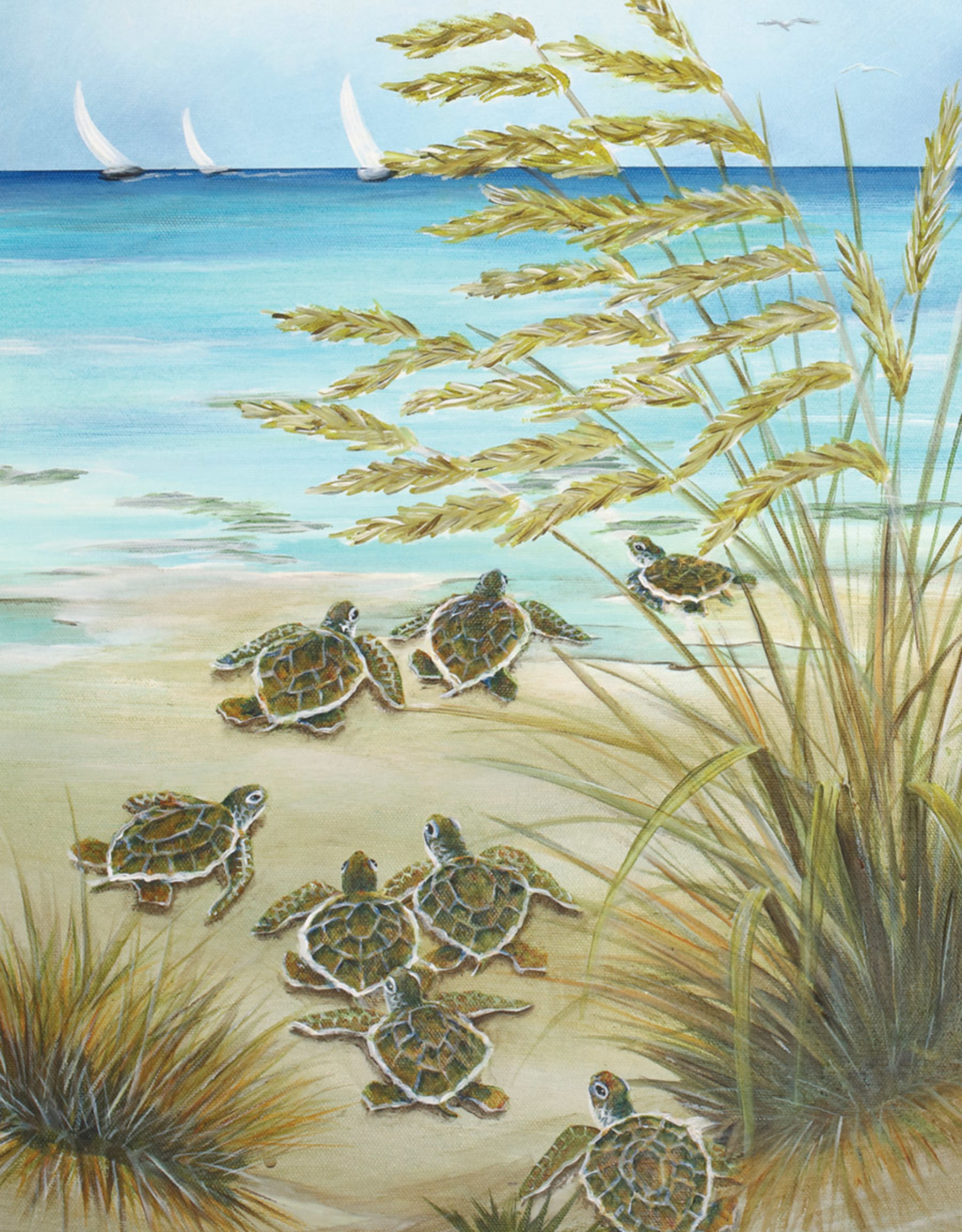 Heritage Puzzles Turtle March Puzzle