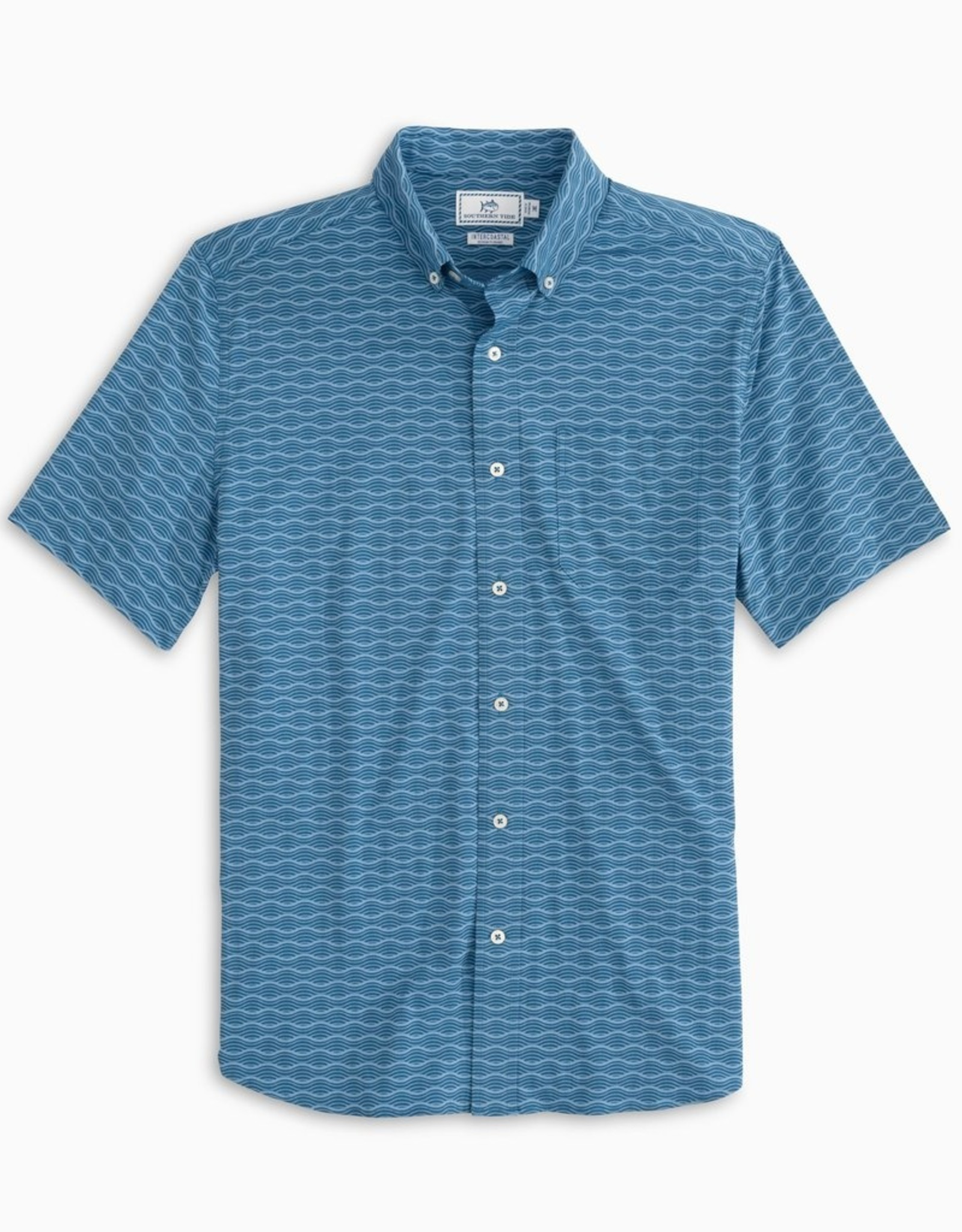 Southern Tide IC Wave Crest Sportshirt