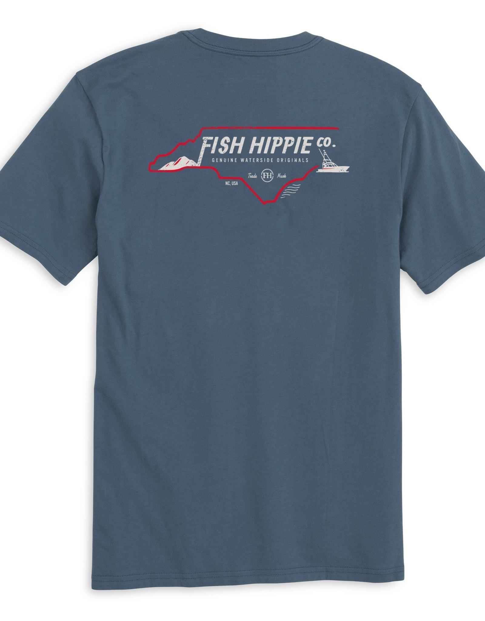 Fish Hippie North Carolina Short Sleeve Tee