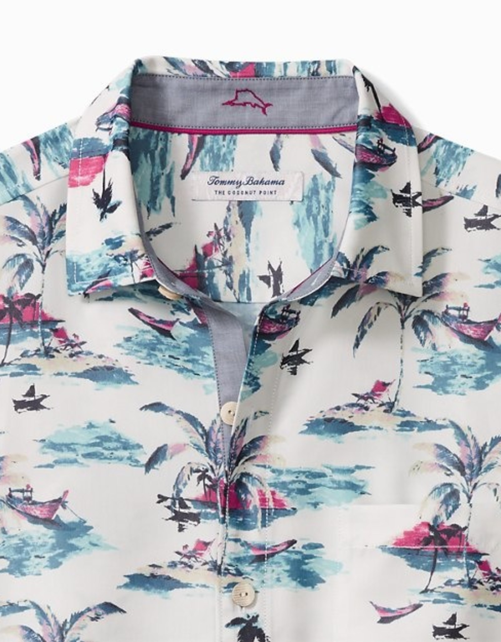 Tommy Bahama Coconut Point Sunset Camp Shirt
