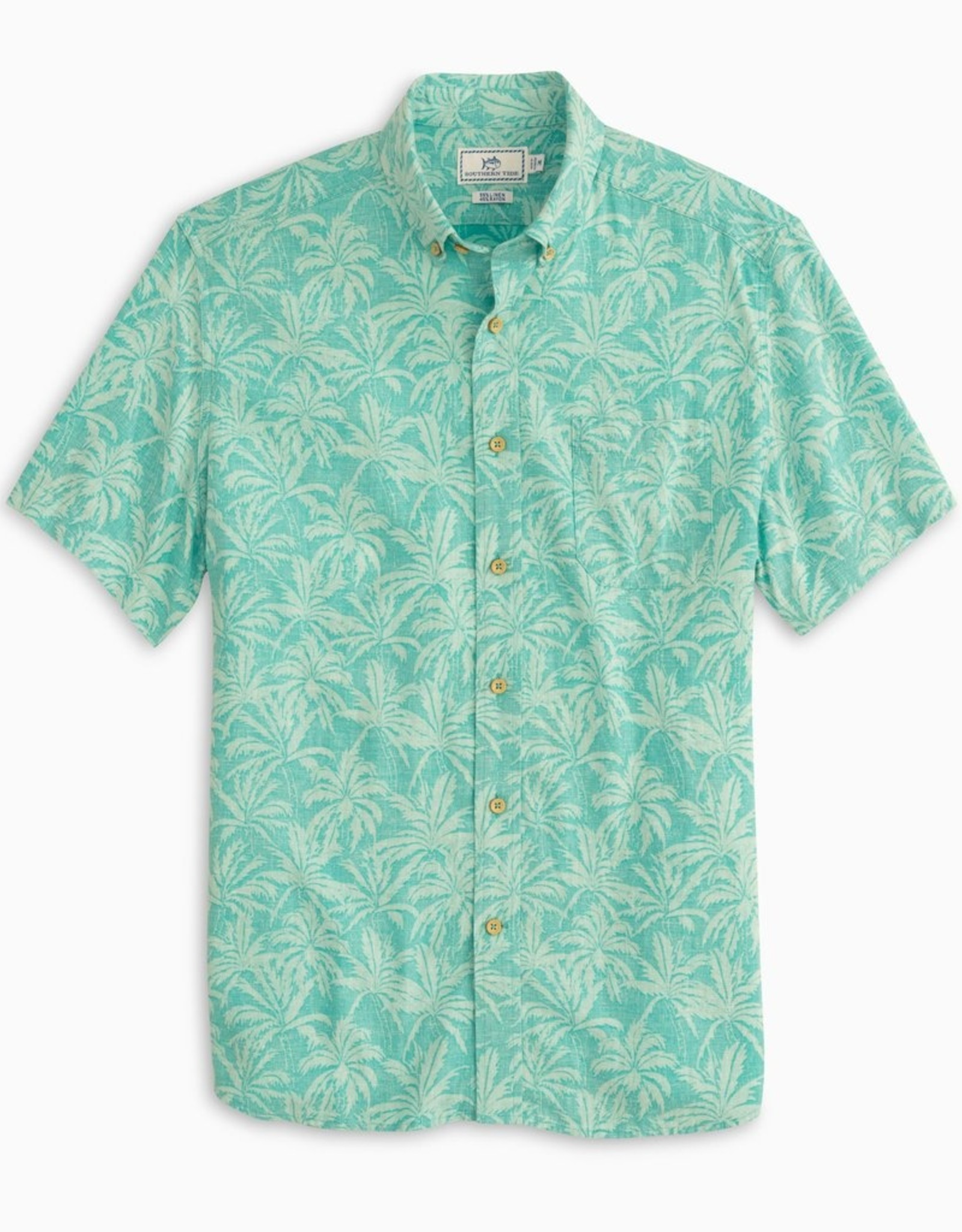Southern Tide Sabal Print Sportshirt