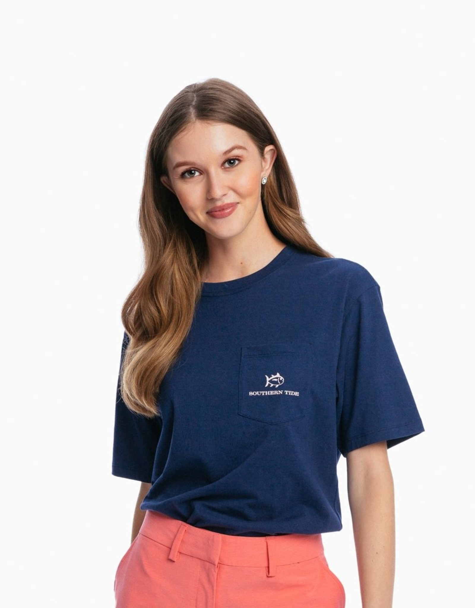 Southern Tide Go With The Flow Turtle Tee