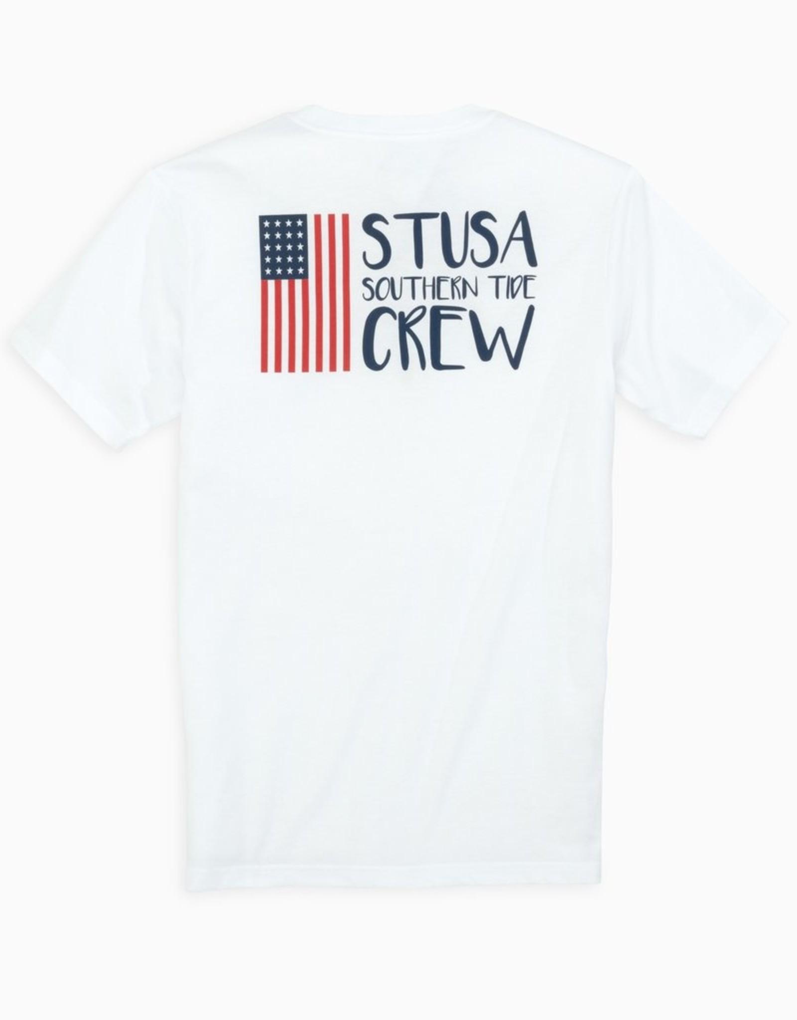 Southern Tide USA Crew Tee