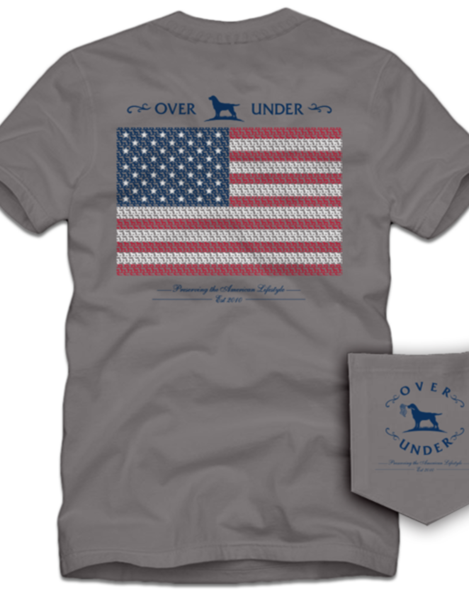 Over Under Clothing Lab Flag Tee