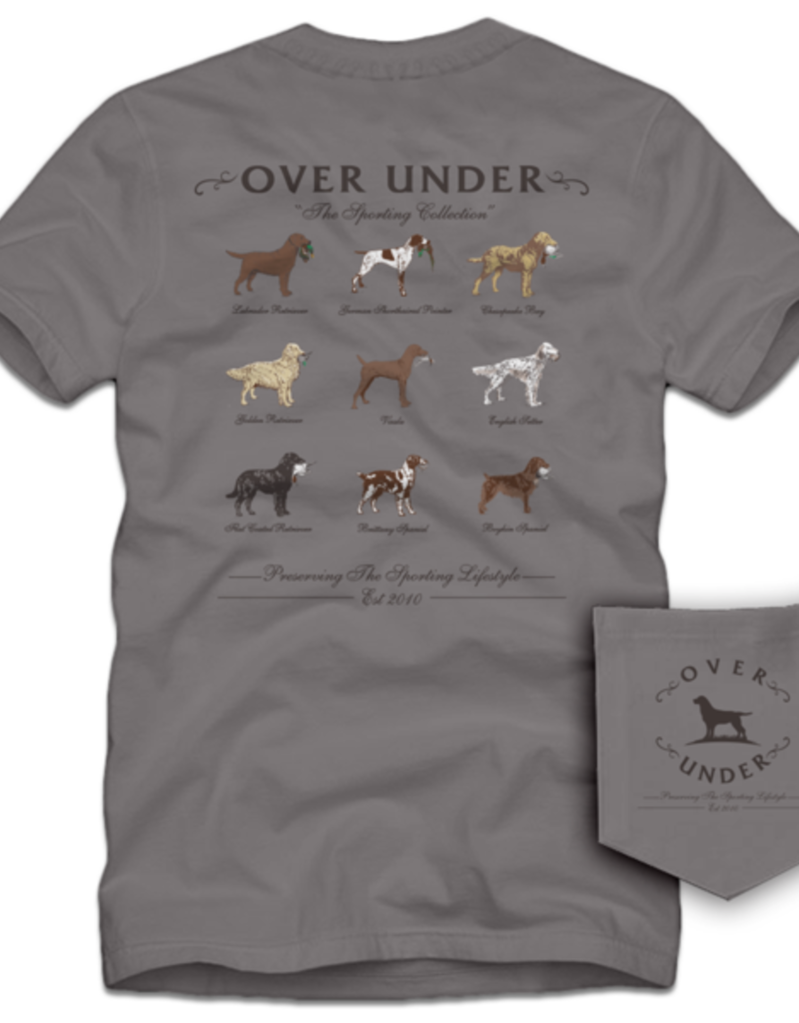 Over Under Clothing Sporting Breed Collection Tee