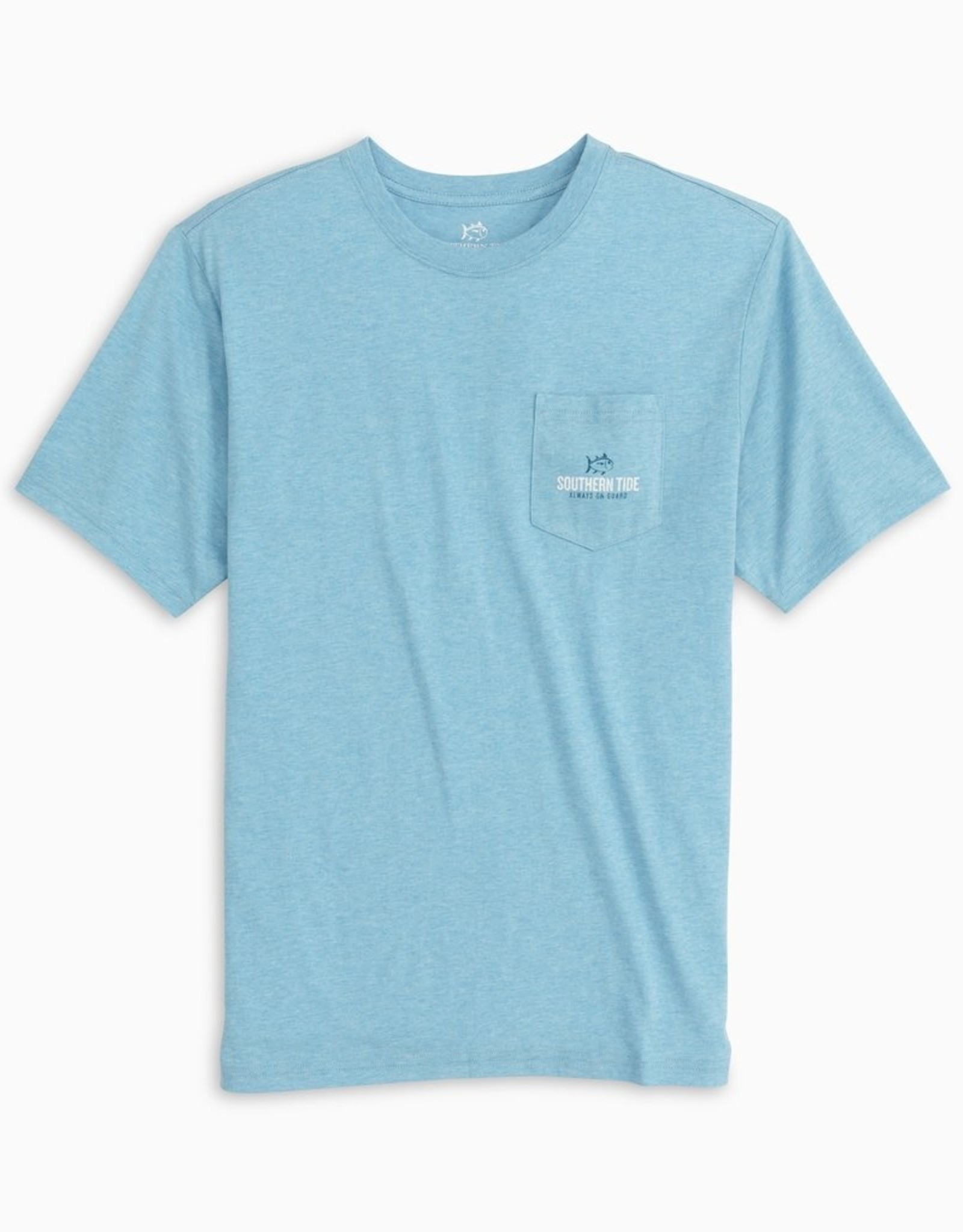Southern Tide Always on Guard Heather Tee
