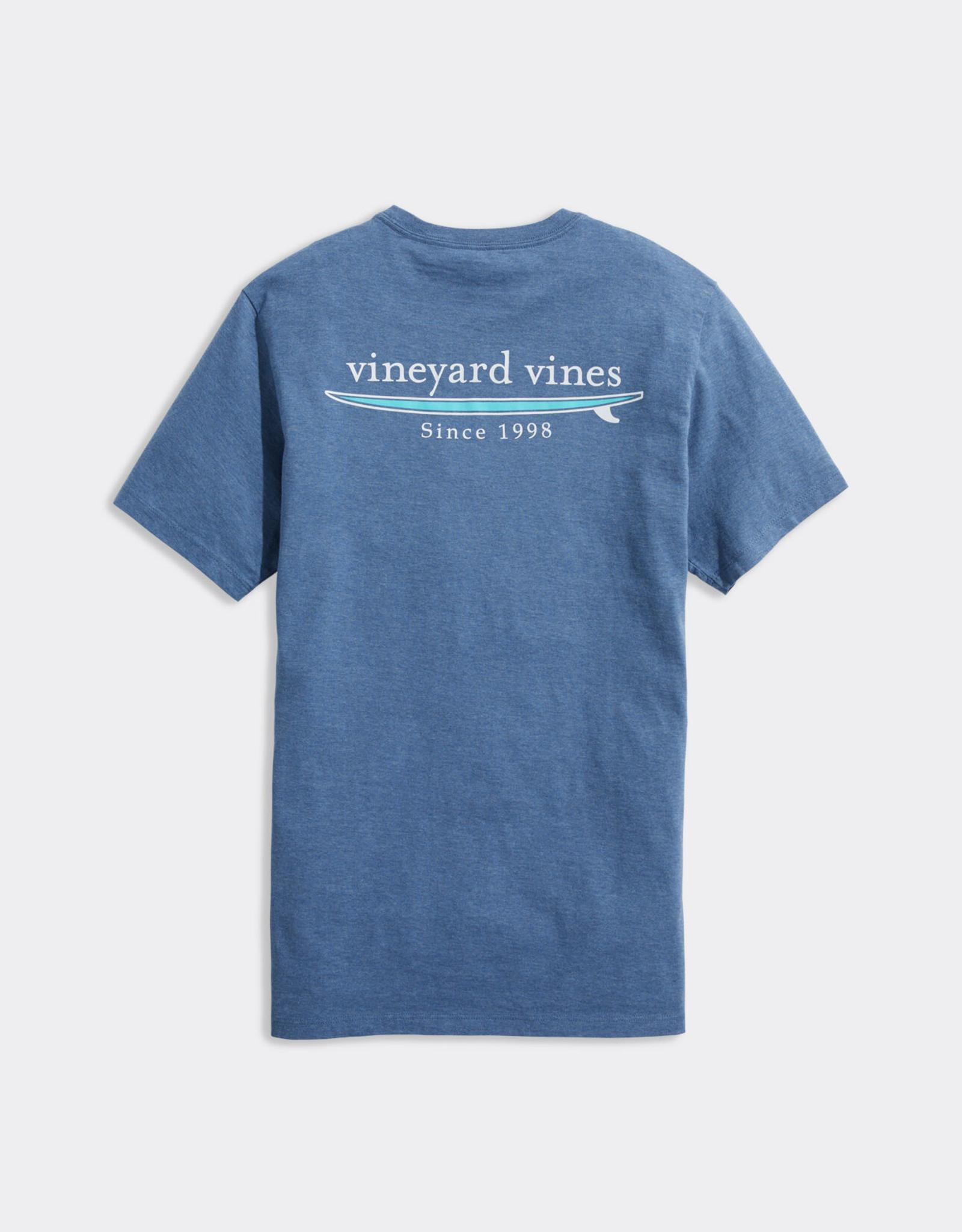 Vineyard Vines Simple Surf Heathered Tee