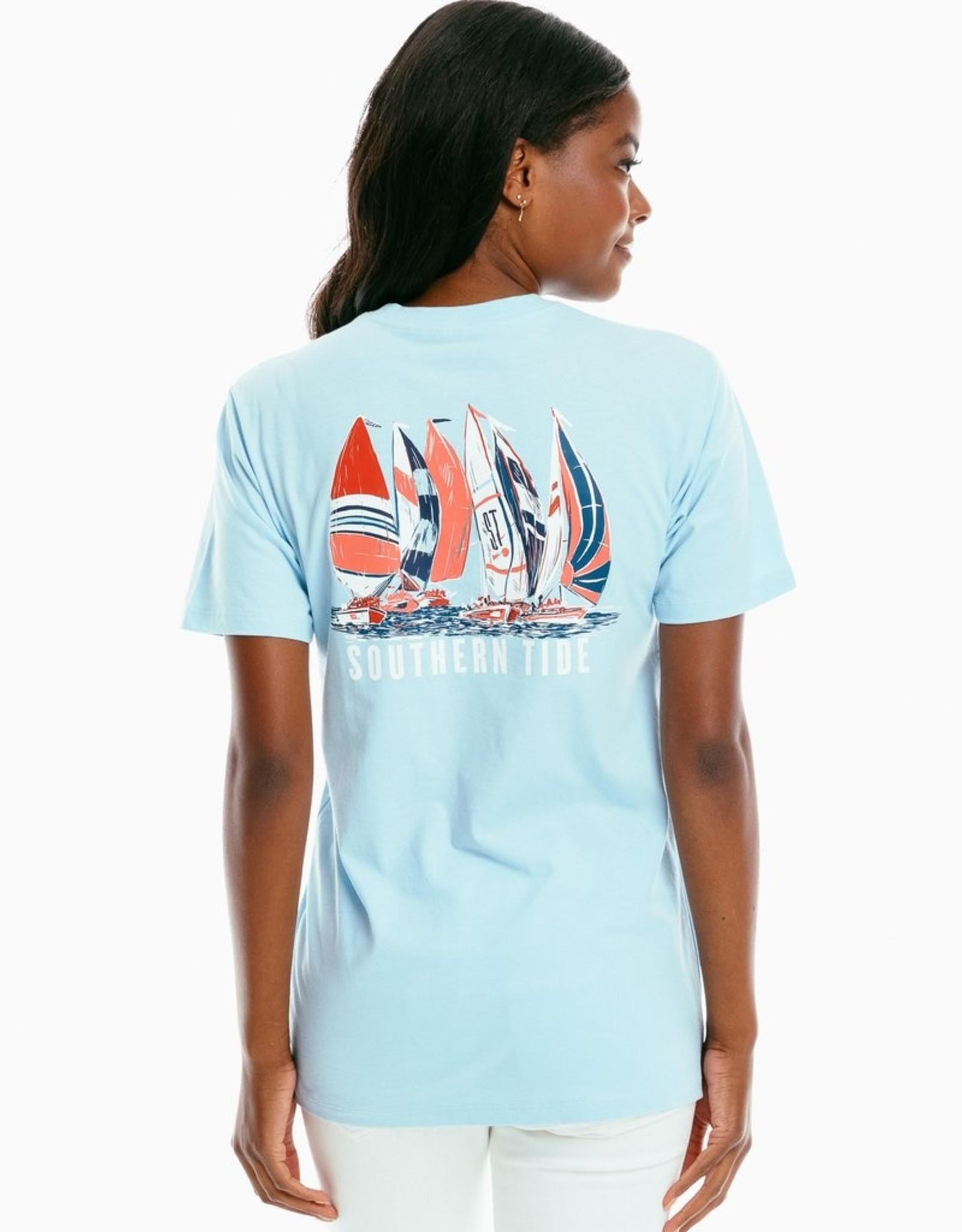 Southern Tide Sassy Sailing Tee