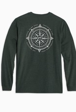 Southern Tide Channel Marker Compass Tee