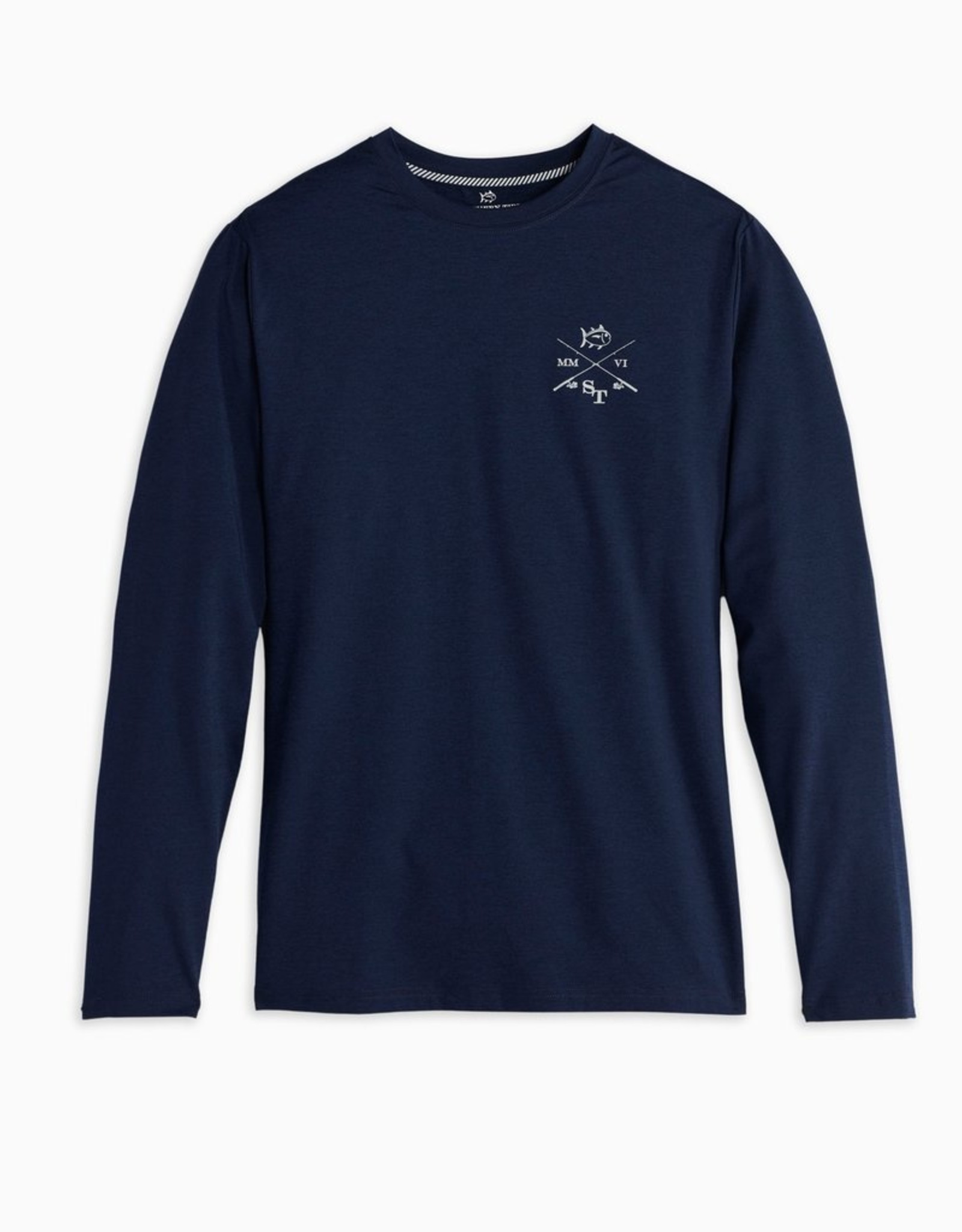 Southern Tide Crossed Fishing Performance Tee