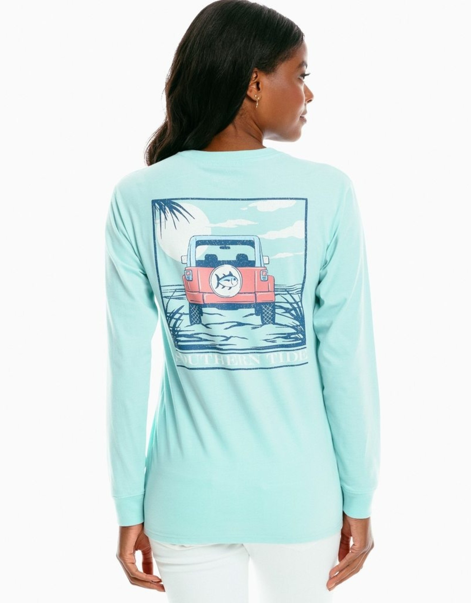 Southern Tide Off Road Sunset Tee