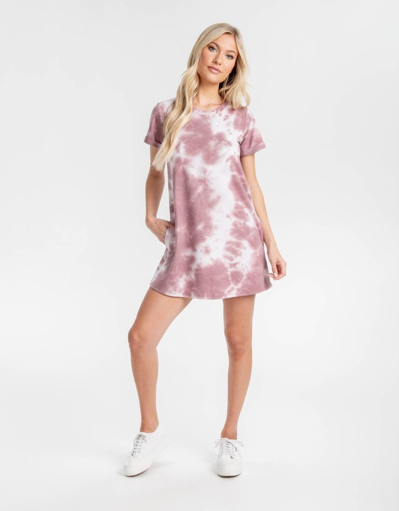 Southern Shirt Watercolor Dress