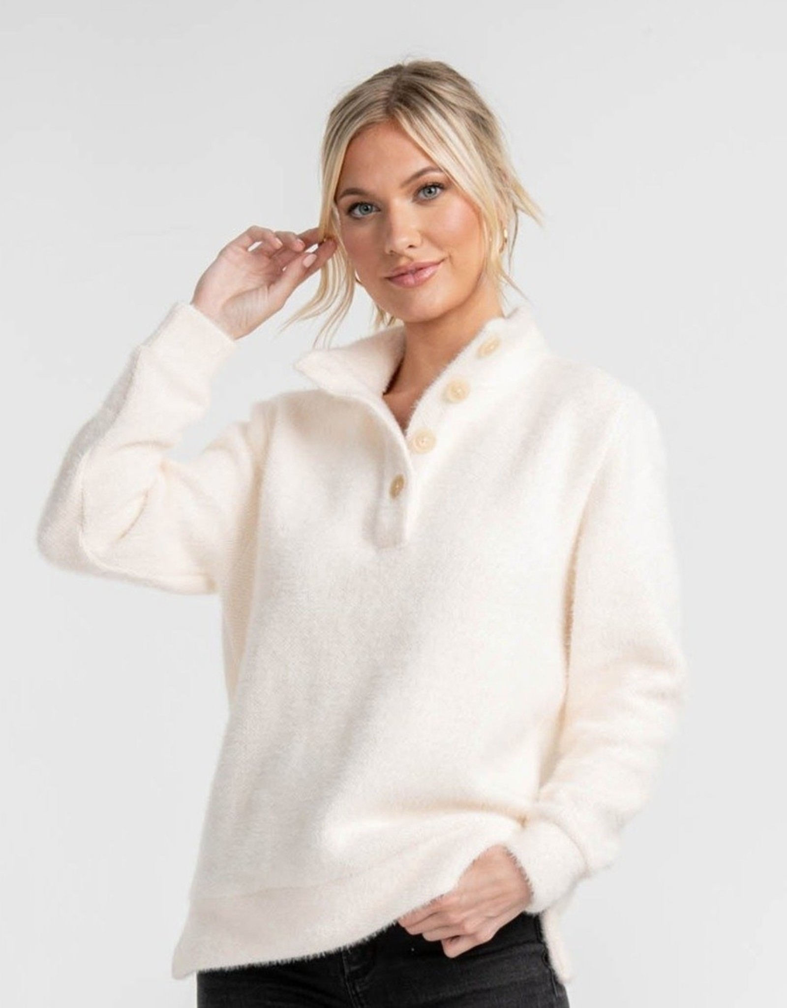 Southern Shirt Sweater Knit Pullover