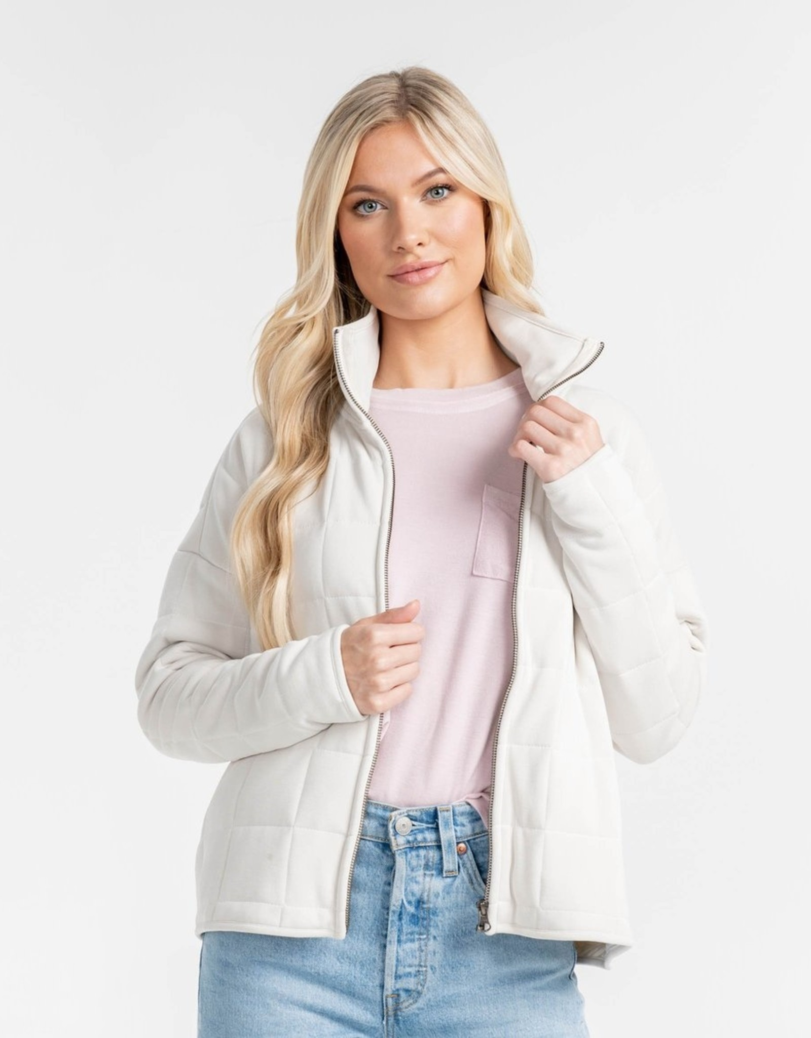 Southern Shirt Patch it up Quilted Jacket