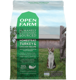 Open Farm \ Cat \ Dry \ Turkey & Chicken 4lb