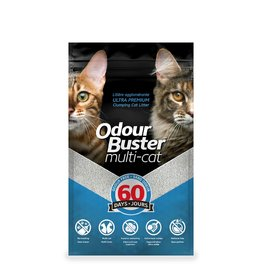 Odour Buster Odour Buster Multi-Cat Clumping Litter 12KG