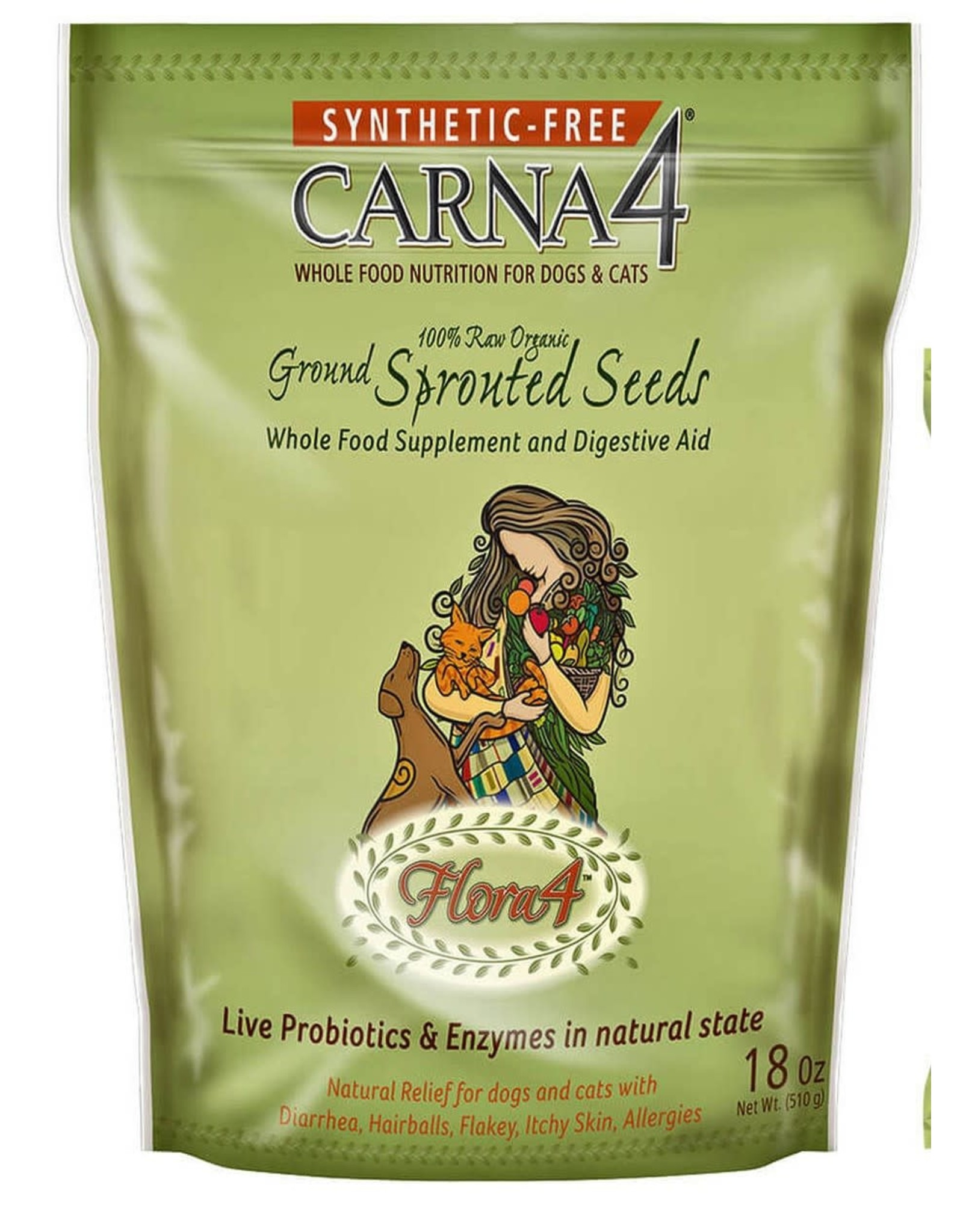Carna4 Carna4 Sprouted Seeds 18oz